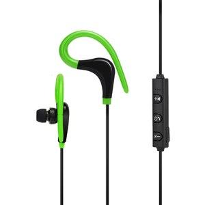 Беспроводные Bluetooth наушники спортивные наушники для бега стерео бас наушники с микрофоном ушные крючки гарнитуры для мобильный телефон