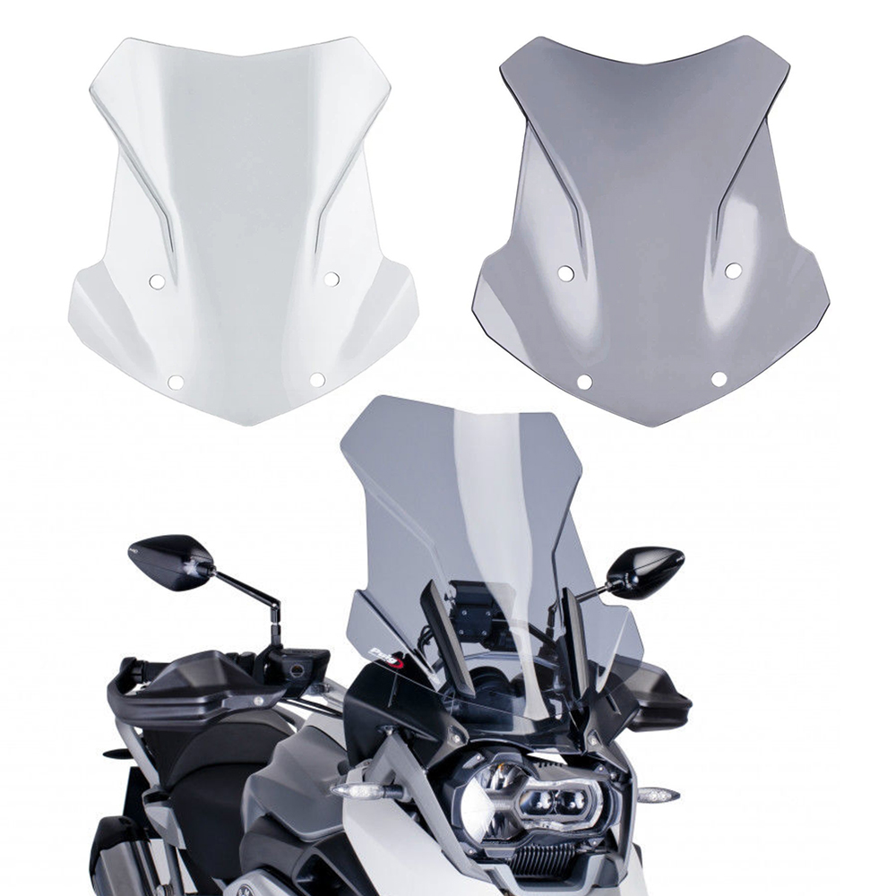 For BMW R1200GS ADV LC R1250GS R1200 R 1200 R1250 GS 2013-2021 Motorcycle Windscreen Windshield Deflector Protector Wind Screen