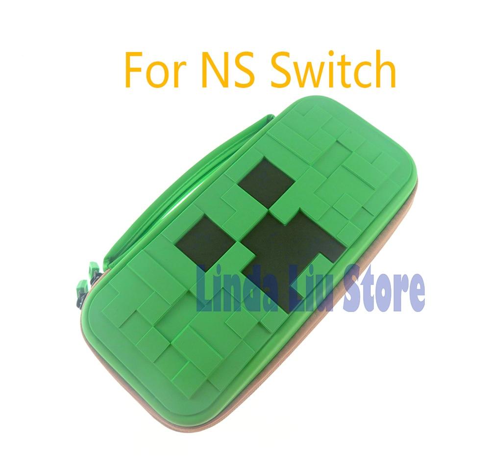 Funda protectora resistente al agua portátil para Nintendo Switch Bag para accesorios de juegos de consola de Switch NS Nitendo Correas de reloj Retro de cuero genuino para hombre y mujer, 18mm, 20mm, 22mm, 24mm, accesorios para Hebilla de Metal KZSD05