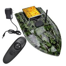 500m Wireless Control Fish Bait Boat Waterproof RC Fishing Finder Boat With LED Night Light Outdoor Fishing Accessories
