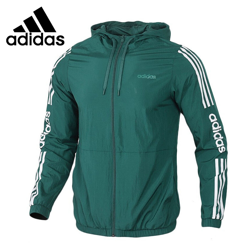 Original New Arrival  Adidas NEO M ESNTL 3S WB Men's  Jacket Hooded  Sportswear