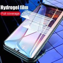 Мягкая Гидрогелевая пленка HD для Huawei Mate 30 10 9 Pro 20 Lite X, защитная пленка для экрана Huawei Honor 8X 9X 8A 10i, защитная Гелевая пленка