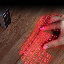 560S Клавиатура для мобильного телефона лазерная проекция Mi ni Классическая клавиатура для бизнеса Bluetooth для android оборудования настольного ноутбука iPad