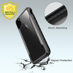 Image 2 - for iPhone 11 Pro Case Defense Shield Series Military Grade Drop Tested, Anodized Aluminum TPU Polycarbonate Protective Case