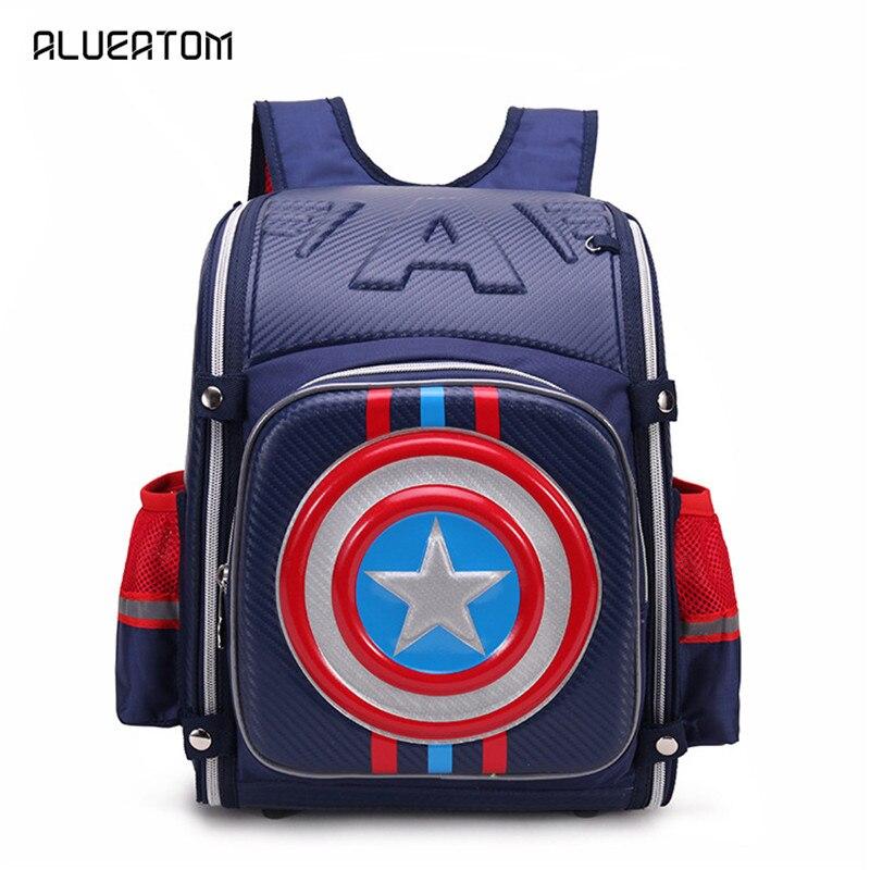 New Children School Bags For Boys Orthopedic Waterproof Backpacks Child Boy Book Bag Satchel Knapsack Mochila Escolar