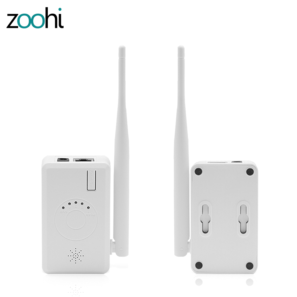 Zoohi Universal IPC Router / Repeater Extend WiFi Range for Home Security Camera System Wireless (1pcs)
