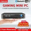 MSECORE i7 9700F GTX1650 4G Carte dédiée DDR4 gaming Mini PC Windows 10 Ordinateur de bureau jeu pc linux ubuntu intel NUC HTPC Mini-ordinateur barebone pc unité système pc industriel stick DP HDMI 4K mini tv