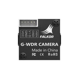 Image 2 - فوكسير فالكور مايكرو V2 1200TVL FPV كاميرا 1.8 مللي متر عدسة GWDR OSD في جميع الأحوال الجوية كاميرا دقيقة PAL/NTSC للتحويل ل FPV RC الطائرة بدون طيار