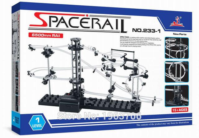 2015New Space Raill, Funny Building Kit, Roller Coaster Toys, SpaceRail Level 2, DIY Spacewarp Erector Set, 6500mm Rail 1