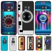 Retro videotape For Samsung Galaxy S6 S7 Edge S8 S9 S10 Plus Lite Note 8 9 10 A30 A40 A50 A60 A70 M10 M20 phone Case Cover etui karl lagerfeld for samsung galaxy s6 s7 edge s8 s9 s10 plus lite note 8 9 10 a30 a40 a50 a60 a70 m10 m20 phone case cover etui
