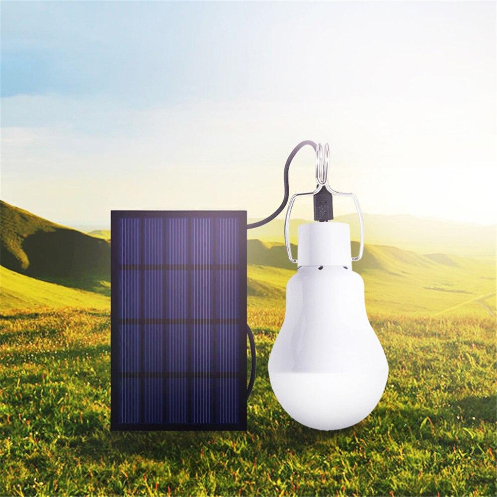 Modern 15W 130LM Solar Power Outdoor Light Solar Lamp Portable Bulb Sensor Solar Energy Lamp Led Lighting Rechargeable Torch Luz