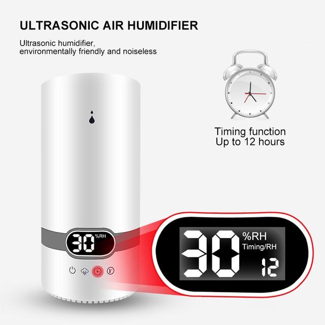 Top Fill 4L humidificador difusor de Aroma de aceite esencial humidificador de aire ultrasónico con Control remoto inteligente
