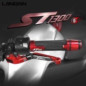 Image 1 - Für Honda ST1300 ST1300A Motorrad Zubehör Bremse Kupplung Hebel Lenker Griffe enden ST 1300A 2003 2007 ST1300 2003 2012