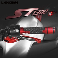 For Honda ST1300 ST1300A Motorcycle Accessories Brake Clutch Levers Handlebar Grips ends ST 1300A 2003 2007 ST1300 2003 2012