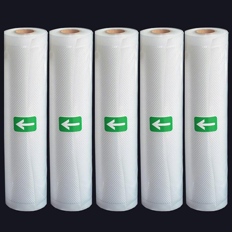 Вакуумные пакеты для вакуумного упаковщика 12/15/20/25/28 см * 500 см с функциями вакуумная упаковка домашних пищевых продуктов, хранение еды, сохра...