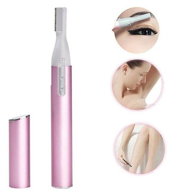 1 шт для удаления волос электрические ножницы стрижки бровей