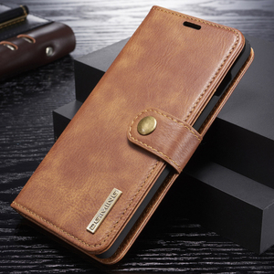 Image 2 - Genuine Shockproof Removable Wallet Case For Samsung S10 S9 S8 Plus Flip Leather Cover S10e Note8 Note9 S7 edge Business Coque