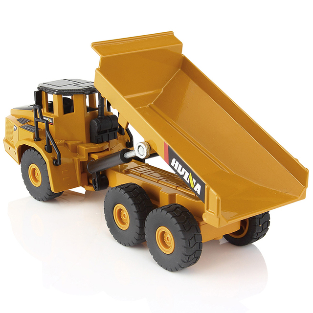 1:50 Metal Alloy Diecast Toy Excavator Truck Model Autotruck Car Model Toys For Boys Navvy Engineering Truck Collection Toys 3