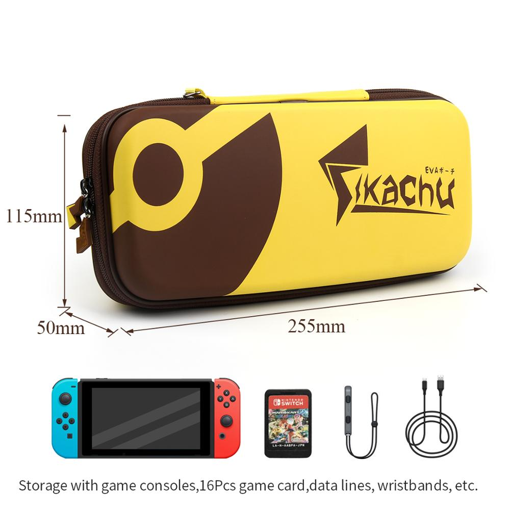 iBen Portable Shell Case For NS Nintend Switch EVA PU Water Resistent Carrying Storage Bag For Switch Console Accessories in Bags from Consumer Electronics