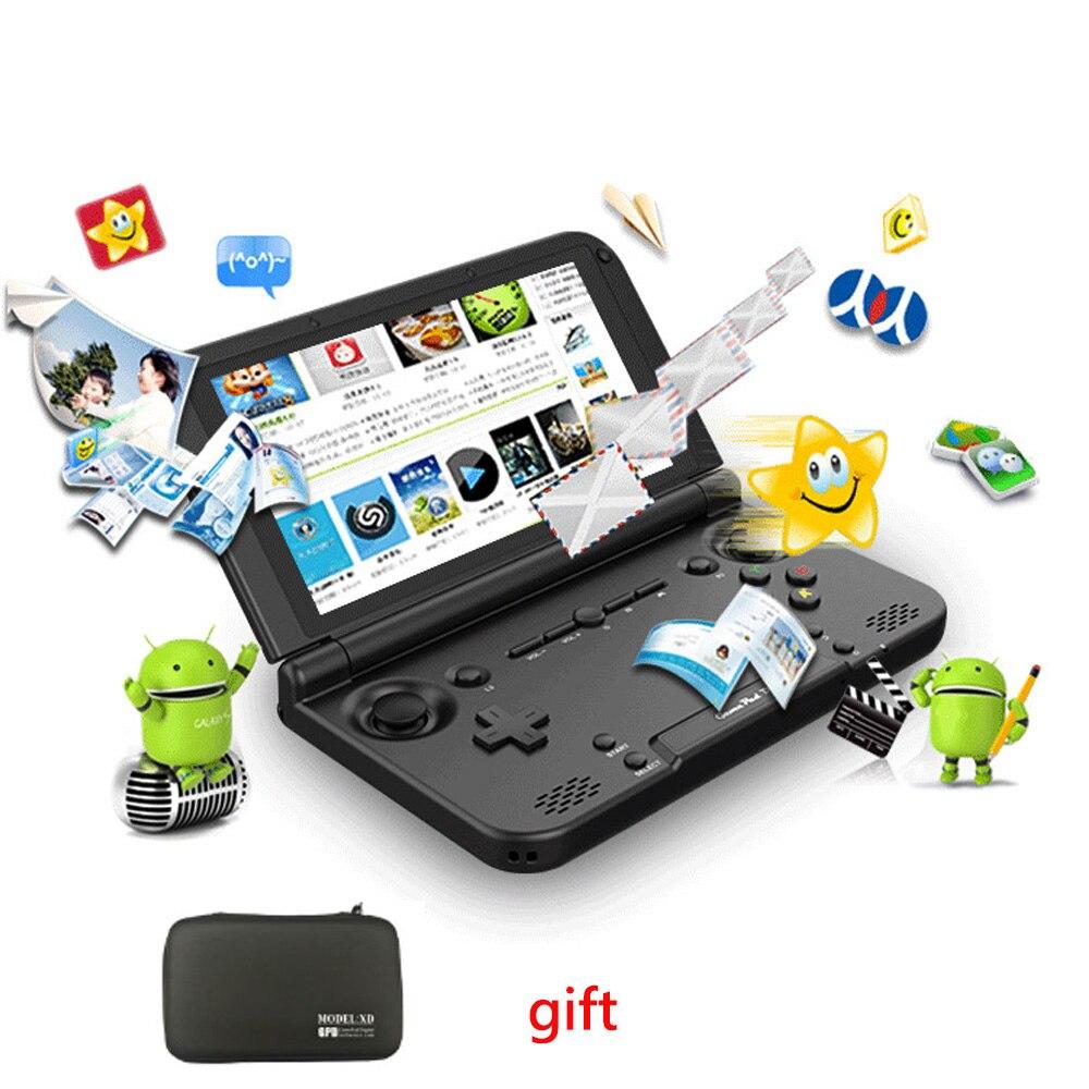 Gpd xd plus com caixa sem fio bluetooth handheld jogo de vídeo 32g android 7.0 4 gb/32 gb 4 k para o jogo de vídeo retro do pc da caixa da tevê de android