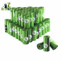 Пакеты для выгула собак 900 шт 60 рулонов зеленые пакеты отходов