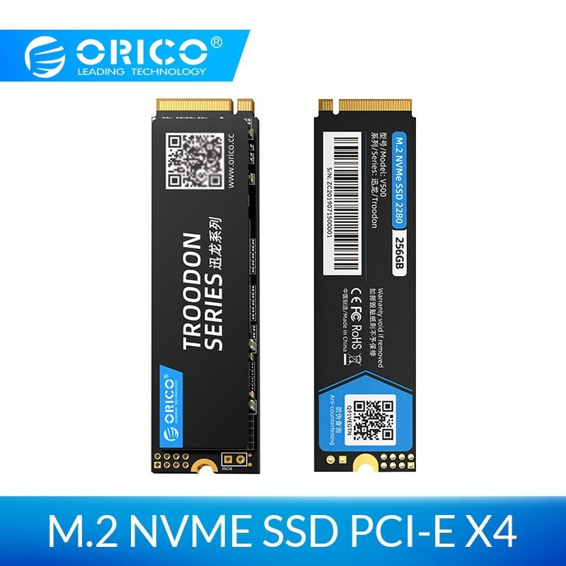 ORICO M.2 NVME SSD 128GB 256GB 512GB 1 to M2 PCIe NVME SSD M.2 2280 mm disque dur à semi-conducteurs interne pour ordinateur portable de bureau