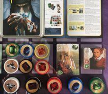 Splendor Board Game full English version with metal Box card game  Custom portable plastic chip