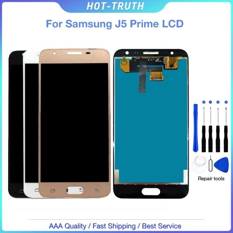 10 Pcs/Lot pour Samsung Galaxy J5 prime G570F G570 SM-G570F écran LCD pour J5P écran tactile numériseur assemblée remplacement