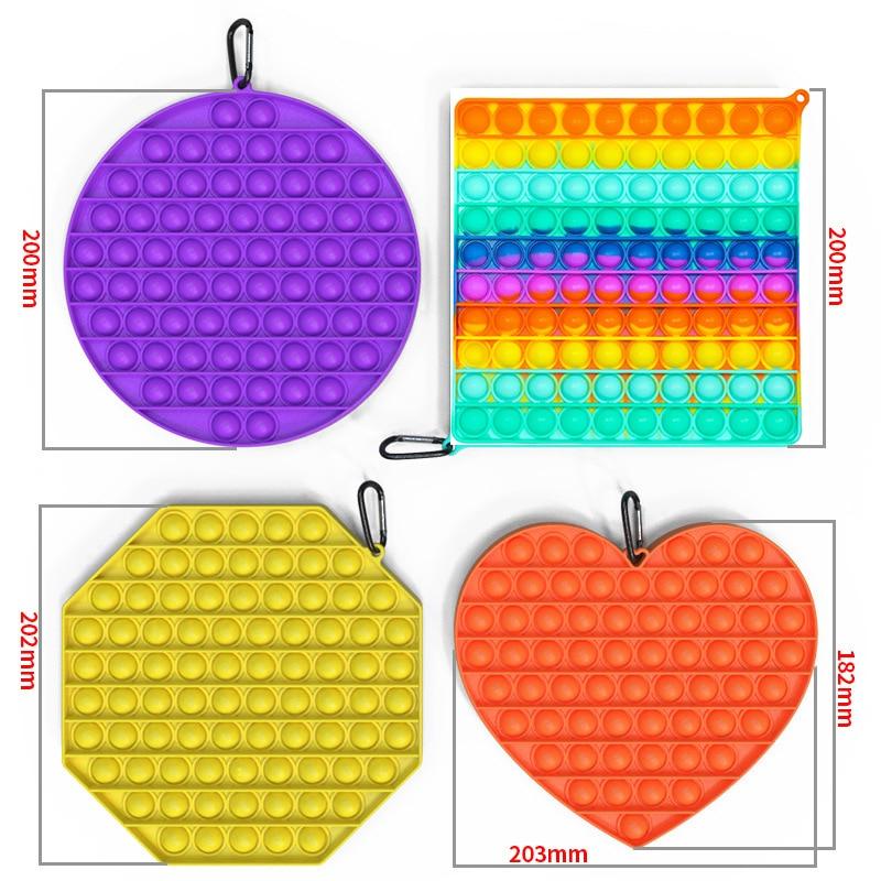 Fidget-Toys Autism Anti-Stress It-Bubble-Sensory Squishy Push-Pop Adult Big-Size Kid img3
