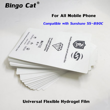 20pc Universal Flexible Hydrogel Film Screen Protector Sticker For iPhone Samsung  All Mobile Phone Front Glass Protective Film