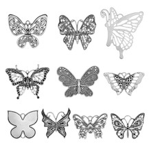 10pcs Charms Butterfly Antique Pendants Making DIY Handmade Tibetan Silver Color Jewelry Fit Necklace Bracelet Earrings 30pcs mixed tibetan silver tone crown key animal charm pendants for bracelet necklace jewelry accessories diy jewelry making