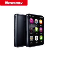 Newsmy A25 Mini MP3 Player Bluetooth 5.0 2.4 inch Full Touch Screen E Book Reader HiFi Loseless 4GB 8GB Music Player