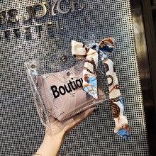 Transparent Bag Ladies Hand Bags/Korean Style Fashion Women's Shoulder Bag/Crossbody Bag Women Pvc Jelly Bag стоимость