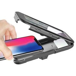Image 5 - Waterproof Bicycle Phone Holder Universal Bike Motorcycle Handlebar Clip Stand Mount Bracket For iPhone Huawei Xiaomi IP68