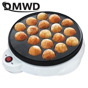 Image 4 - DMWD 110V/220V Chibi Maruko Baking Machine Household Electric Takoyaki Maker Octopus Balls Grill Pan Professional Cooking Tools
