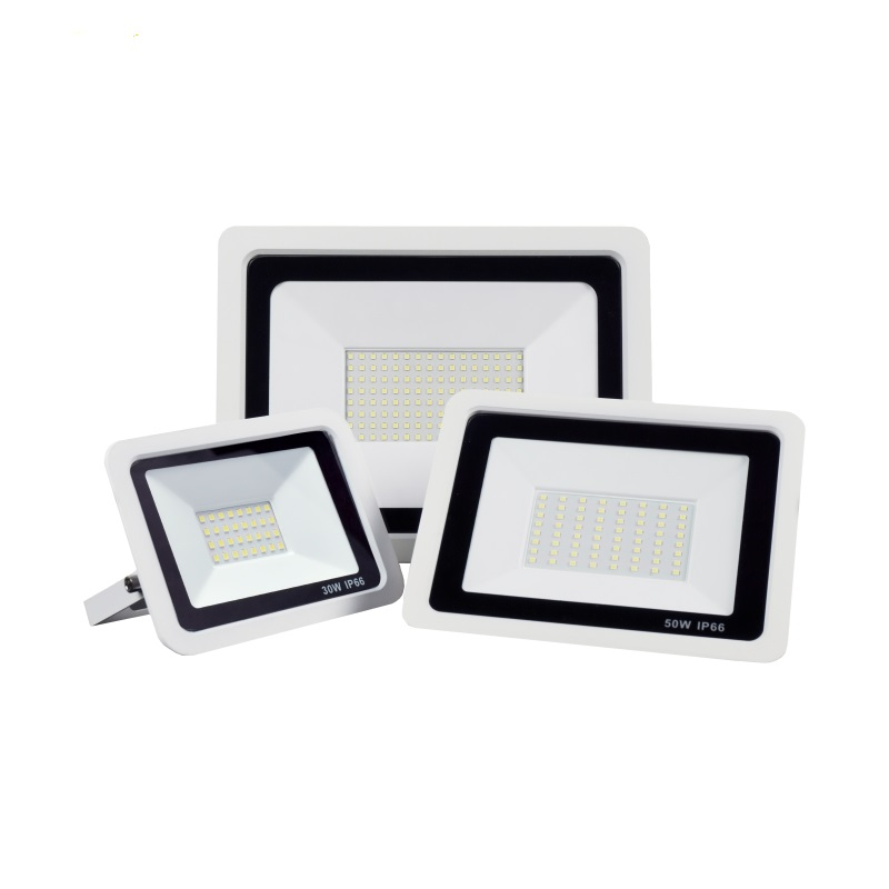 Outdoor LED Floodlight AC220V Cold Warm White 10W 20W 30W 40W 50W IP66 Waterproof Spotlight Wall Lamp Square Hightway Lighting