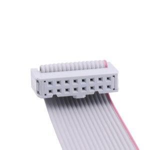 Image 2 - Led anzeige 16 P 16 pin flach kabel 20cm 40 cm 50cm 60cm 80cm reinem kupfer flache band daten led modul empfänger kabel signal kabel