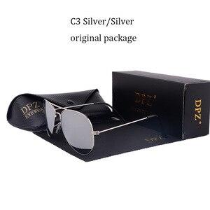 Image 4 - Женские и мужские градиентные стеклянные линзы DPZ, Зеркальные Солнцезащитные очки 58 мм 3025 G15 Gafas hot rayeds, брендовые солнцезащитные очки es UV400, 2020