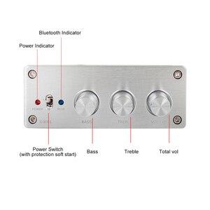 Image 3 - Aiyima amplificador hifi tpa3255 bluetooth 5.0, subwoofer 75w * 2 + 2.1 w, áudio digital de alta potência amp home sound theater diy