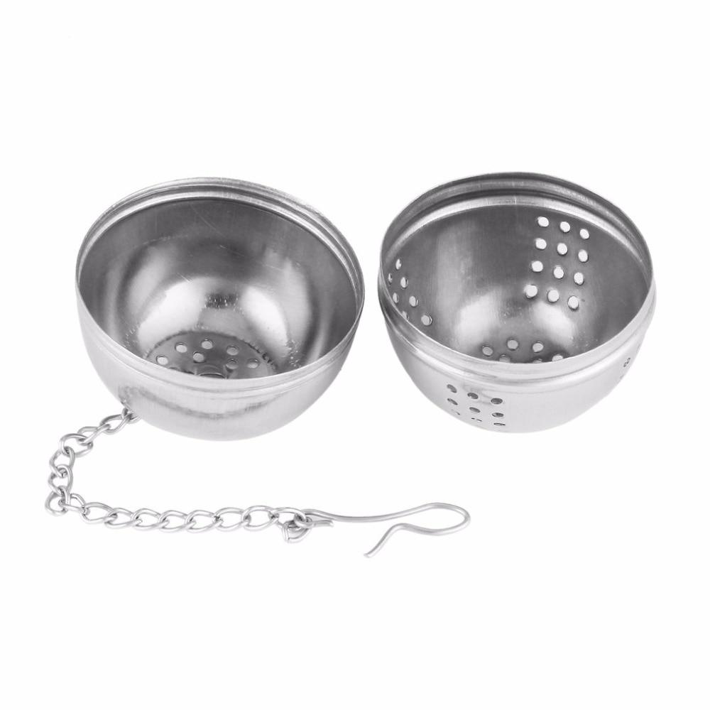 Горячий DIY 51-100 мл фильтр для чая из нержавеющей стали сито для заварки чайный сосуд для специй яичный Шар Кухонные инструменты многоразовые