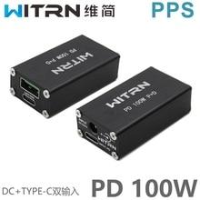 W20 100W PD شاحن سيارة سطح المكتب المزدوج ميناء VOOC PD3.0 فلاش تهمة QC4 +