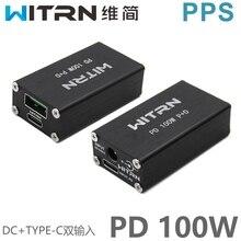 W20 100W PD ładowarka samochodowa pulpit podwójny port VOOC PD3.0 ładowanie błyskowe QC4 +