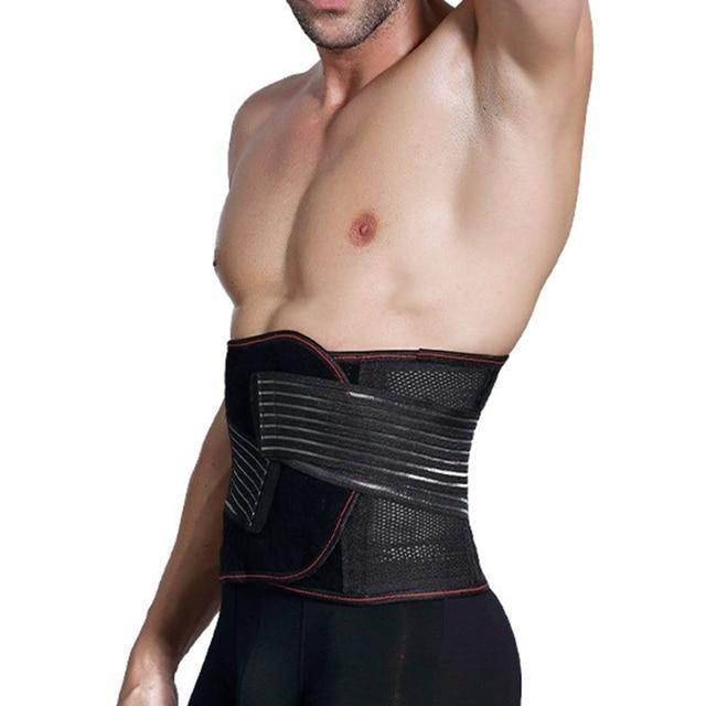 New Arrived Man Polyester Waist Cinchers Plus Size Shapewear Body Shaper Sweat Slimming Belt Fitness Corset Control Tummy Girdle 3