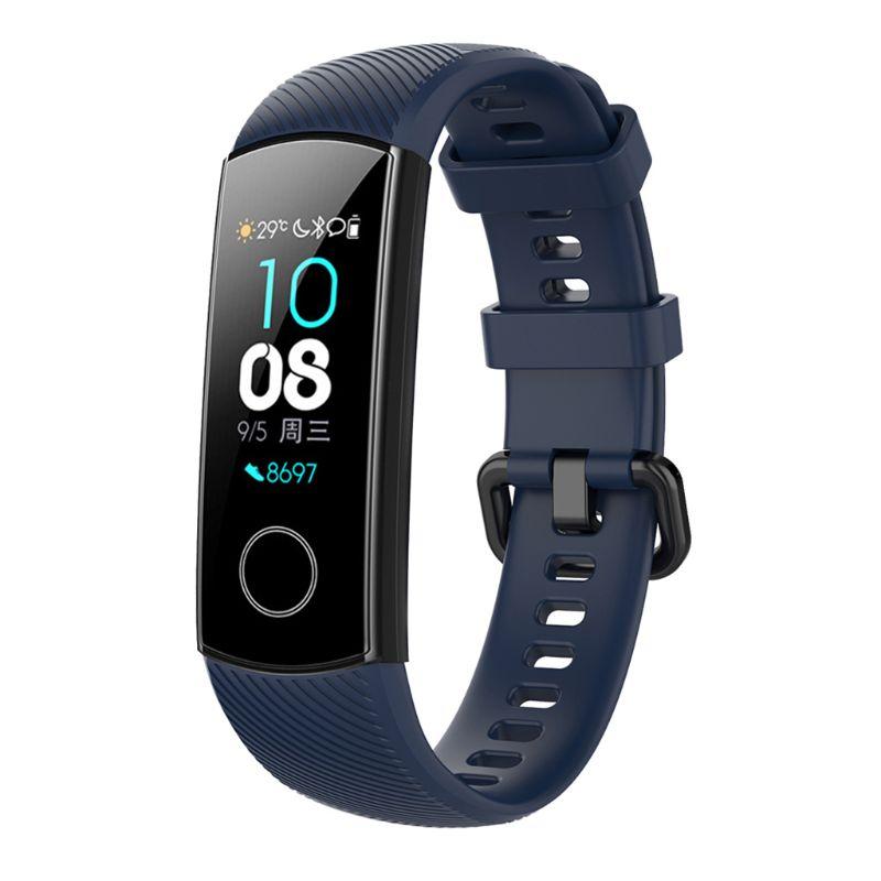 Против царапин мягкий силиконовый ремешок для часов спортивный ремешок Замена для huawei Honor 5/4 спортивный браслет аксессуары L41E - Цвет: DB