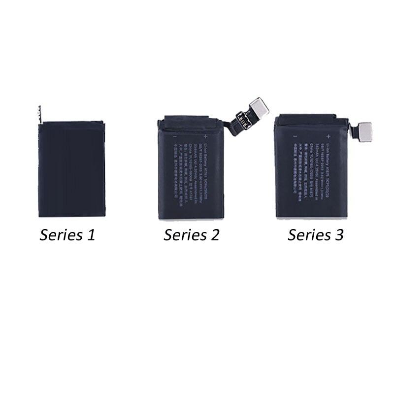 1Pcs For Apple Watch Original Battery A1579 Battery Real For Apple Watch Series 1 Series 2 Series 3 38mm 42mm 100%Tested Battery