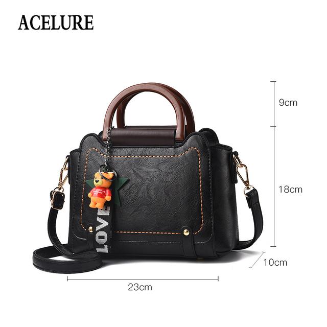 ACELURE Top-handle bags for women  NEW Luxury PU leather handbags women bags designer crossbody bags for women bolsos mujer