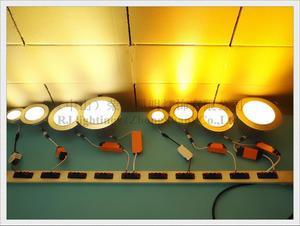 Image 5 - LED ضوء السقف الألومنيوم داخلي بقعة ضوء الأضواء مصباح إضاءة مثبت في فتحة ضوء 3 واط 5 واط 7 واط 9 واط 12 واط 15 واط 18 واط 21 واط 24 واط ضوء السقف