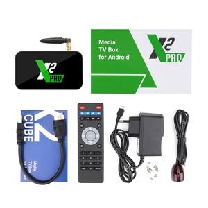 Image 5 - X2 CUBE 2GB DDR4 16GB Smart Android 9.0 TV Box Amlogic S905X2 2.4G/5GHz WiFi 1000M Bluetooth 4K HD X2 Pro 4GB 32GB décodeur