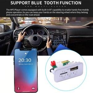 Image 4 - Kebidu 12V Mini Wireless Bluetooth 5.0 MP3 Decoder Board Audio Module MP3 WMA Support USB FM TF Radio AUX input For Car Radio