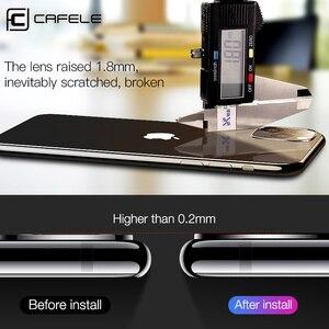 Image 4 - Cafele 2 pièces appareil photo protecteur dobjectif verre trempé pour iPhone 11 pro max Ultra mince 9H verre de protection dur pour iPhone 11 pro max